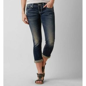 BKE BK1217OR SABRINA STRAIGHT CROPPED JEANS
